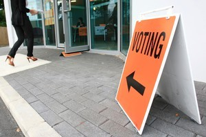 A referendum held at the same time as the general election will ask voters whether they want to change to another electoral system. File photo / Martin Sykes.