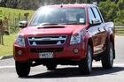 The Isuzu D-Max ute. Photo / Supplied