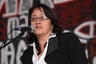 Maori activist and Treaty lawyer Annette Sykes has been working on the party's policies. Photo / Chris Loufte