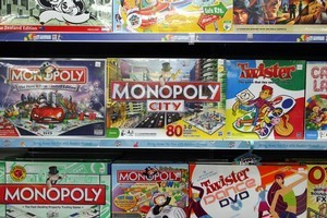 Although board games have moved on from Euro games of the 1990s, Monopoly still remains on shelves as an option on a rainy day. Photo / Duncan Brown