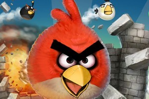 Angry Birds surprised the traditional game industry with its mammoth popularity across numerous platforms. Photo / Supplied
