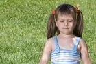 Observe the ways of a child to relearn techniques for a good posture. Photo / Thinkstock