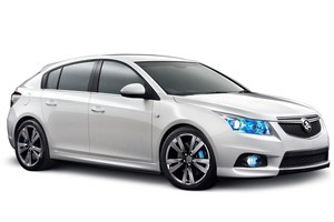 Holden's new Cruze hatchback was revealed at the Australian International Motor Show today.