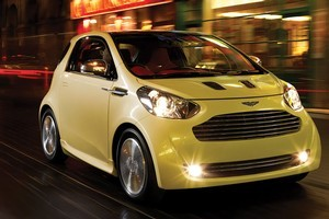 Aston Martin's Cygnet is based on Toyota's iQ micro - it's likely to retail in New Zealand at around $100,000. Photo / Supplied