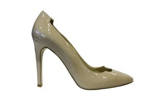 Stella McCartney nude pumps from Runway Shoes. Photo / Supplied