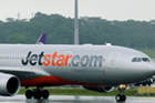 The passenger who urinated in the cabin of a Jetstar airliner was allowed to leave after a warning. File photo / Greg Bowker