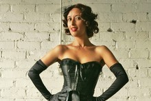 Miss La Vida says burlesque won't help you get fit but it may help boost self-confidence. Photo / The Aucklander