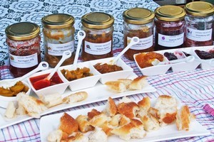 Listers' pickles and preserves. Photo / Supplied