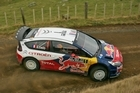 Sebastien Loeb driving in the 2010 Rally of New Zealand. Photo / Getty Images
