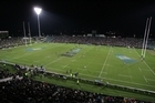 There was a 30-minute blackout during a super rugby game at North Harbour Stadium two years ago. Photo / Getty Images