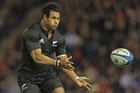Isaia Toeava is expected to be named in the All Blacks squad, maybe at the expense of Ben Smith. Photo / Getty Images
