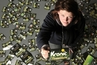 Kristyn Scott says she has consumed more than 110 packets of the now banned Kronic Pineapple Express.