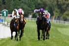 So You Think (R) wins the Coral-Eclipse from Workforce at Sandown yesterday. Photo / Getty Images