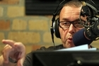 Paul Henry at work in the Radio Live studio. Photo / Janna Dixon