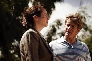 Emily Watson and David Wenham star in 'Oranges and Sunshine.' Photo / Supplied