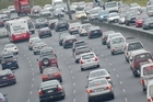 The suburbs of Takapuna and Petone see the biggest increase of traffic during the commute to and from work in Auckland and Wellington. File photo / NZ Herald