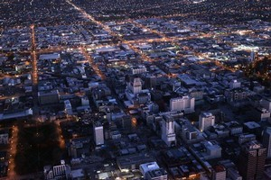 The Christchurch CBD. Photo / Mark Mitchell