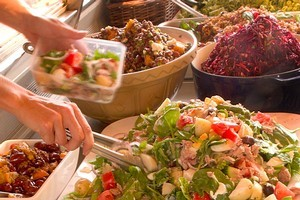 Ripe Deli on Richmond road is has a delicious variety of takeaway salads for your choosing. Photo / Babiche Martens