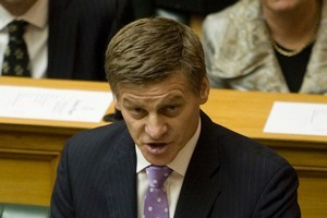 Finance Minister Bill English says it could take 15 years for Labour's proposed capital gains tax to raise $700 million. File photo / Mark Mitchell