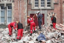 Schools were damaged in the Christchurch quakes and the Government says it will spend more to bring them up to scratch. Photo / APN