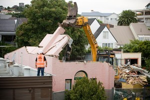 The demolition of seven old buildings in St Heliers has prompted the council to protect heritage buildings. Photo / Dean Purcell