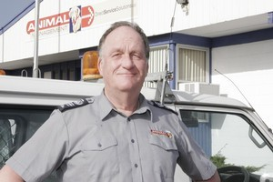 Barry Gillingwater, managing director DSS Animal Management. Photo / NZ Herald
