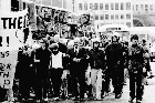 The Springbok protests in 1981. Photo / Northern Advocate