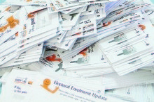 Returned electoral roll letters. Photo / file