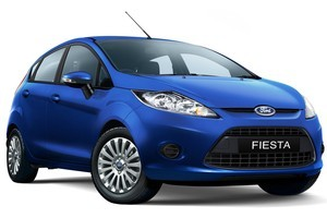 It's easy to crack along at a good pace in the Ford Fiesta LX Diesel. Photo / Supplied