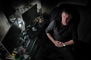 Tomasz Grygoruk is now out of jail and studying computer networking in the hope of getting a job in computer security. Photo / Brett Phibbs