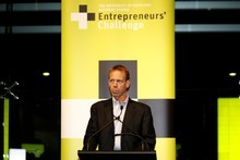 Entrepreneur Rob Adams says New Zealand could produce a Google or Facebook, but small firms that keep repeating their success are a better bet. Photo / Steven McNicholl