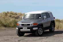 Toyota's awesomely Tonka-like FJ Cruiser. Photo / Stuart Monroe
