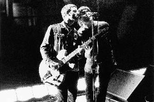 BACK IN THE DAY: Noel (left) and Liam Gallagher in the Oasis days. Photo / Supplied