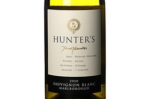 2010 Hunters Sauvignon Blanc, $20. Photo / Supplied