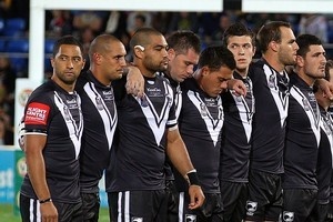 The Kiwis will play the Cook Islands in Rarotonga. Photo / Getty Images