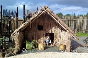 Te Ao Marama Maori culture village at Te Hana. Photo / Danielle Wright