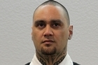 Musician, Tiki Taane, pictured in the Tauranga District Court this morning. Photo / Alan Gibson