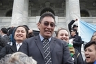 Hone Harawira was thrown out of parliament this afternoon after he refused to give the correct oath of affirmation, which is required by law