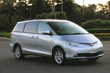 Toyota Previa. Photo / Supplied