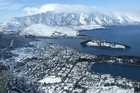 A blanket of snow turned Queenstown into a winter wonderland. Photo / Otago Daily Times