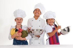 KidsCook workshops are being held at Lynnmall. Photo / Supplied