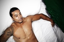 Robbie Magasiva as Othello. Photo / Supplied 