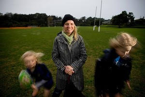 Dr Jennifer Curtin is one of many New Zealand women who love our national game. Photo / Dean Purcell