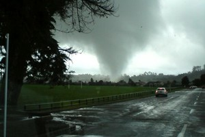A tornado hit Albany in May. Photo / Supplied