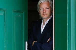 WikiLeaks founder Julian Assange. Photo / AP