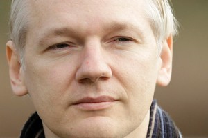 The founder of WikiLeaks, Julian Assange. Photo / AP