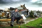 The tornado that hit the Kapiti Coast last week brought back frightening memories for Whakatane funeral director Brent Willetts. Photo / John Borren