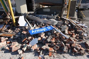 Christchurch has been struck by more than 7,400 aftershocks since the September 4 magnitude 7.1 quake. Photo / APN