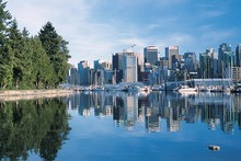 Vancouver is home to more than two million people and has plenty of green spaces to take in the city's beauty. Photo / Tourism BC