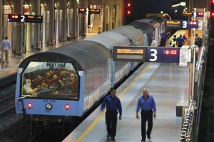 Officers will use trains and ferries to get from outer city bases to Eden Park and then return. Photo / Steven McNicholl